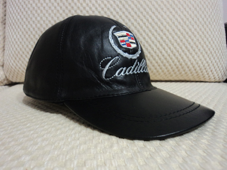 Cadillac Leather Hat / Cap