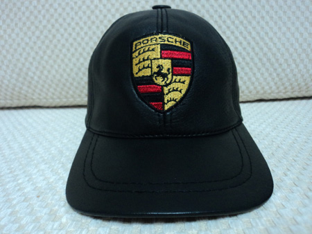 Leather Black Baseball Cap   Buy 1 Get 1 Free   Porsche Ferrari ... 33a9aea521a