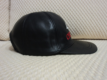 Chevrolet Leather Black Baseball Hat Cap [BUY 1 GET 1 FREE]