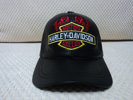 Harley Davidson Leather Hat / Cap