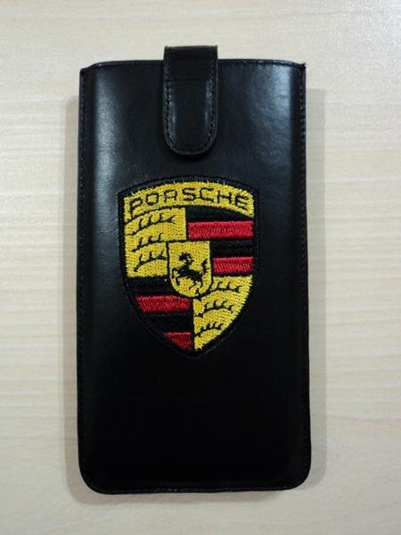 IPHONE 7 PLUS PORSCHE LEATHER COVER