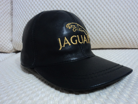 Jaguar Leather Hat / Cap
