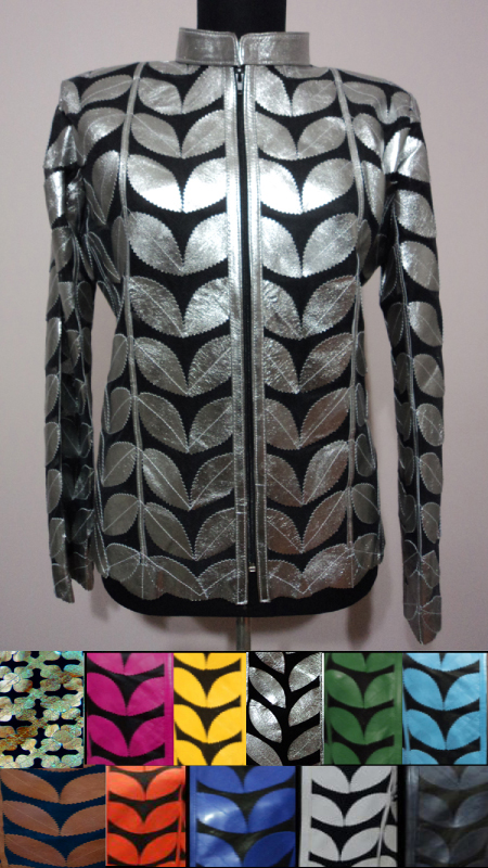 Leather Leaf Jackets for Women [ Click to See Available Colors ]