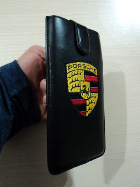 Porsche Leather Case Cover Pouch for Iphone 7 Plus / 6 Plus