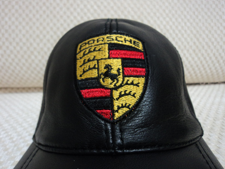 Porsche Leather Hat / Cap