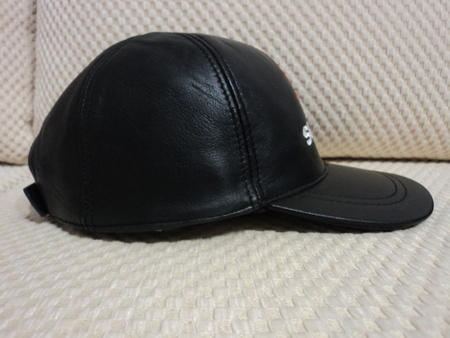 Suzuki Leather Black Baseball Hat Cap [BUY 1 GET 1 FREE]