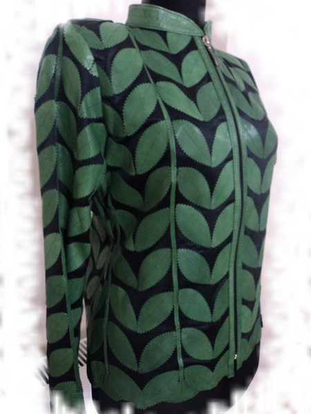 Women Green Jacket